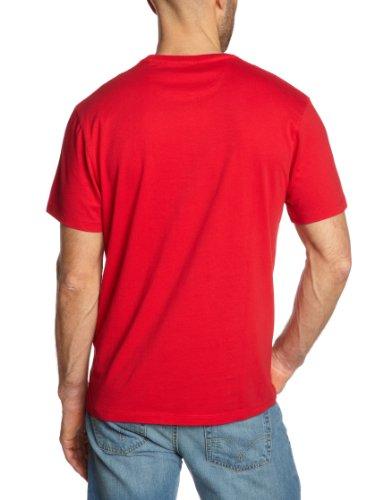 Levi's® Herren T-Shirt Standard Graphic Crew Rot (Corvette 0253)
