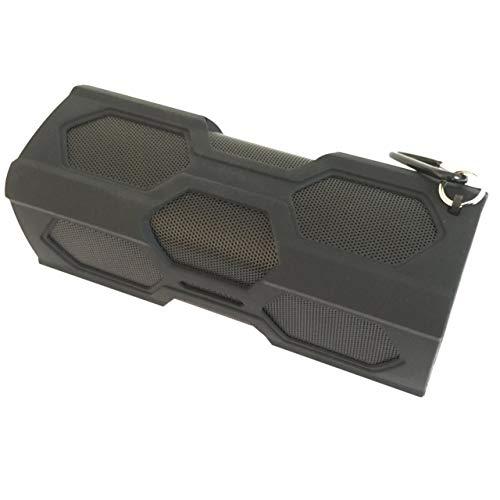 Preisvergleich Produktbild Jasnyfall Bluetooth-Lautsprecher drahtloser Bluetooth Stereo USB-Lautsprecher Tragbare Bluetooth 4.0 Wireless Speaker Wasserdichtes Energien-Bank-Bass-Subwoofer Schwarz