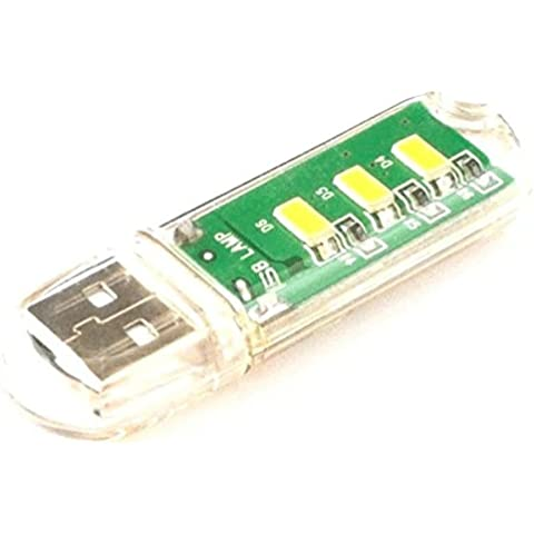 Goliton mini-USB luz de noche LED Notebook transparente portátil portátil portátil
