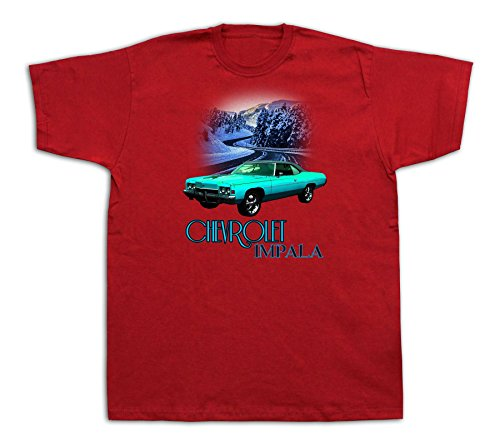 chevrolet-impala-snow-chevy-sedan-hid-ss-4dr-xenon-tshirts-hot-rod-car-racer