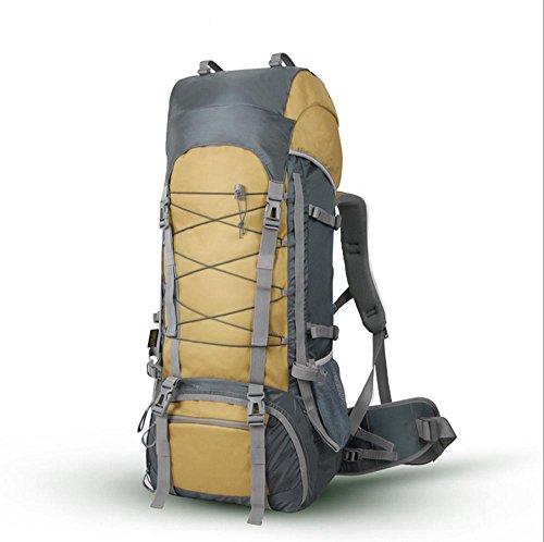 Xiuxiandianju L 56-75L sport outdoor grande capacità zaino spalla Zaini , mud color mud color