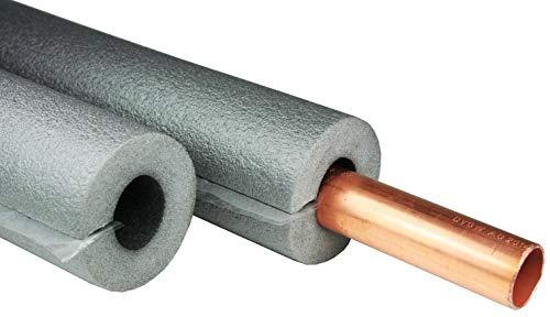 Rohrisolierung, 1m mit 35mm Durchmesser, 13mm Isolierung, selbstklebend