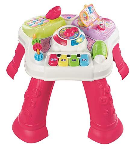 VTech 80-148083 - Mesa de Actividades para Jugar y Aprender, Color Rosa