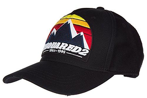 Dsquared2 Baumwolle Kappe Verstellbar Herren Baseball Cap Basecap hut gabardine