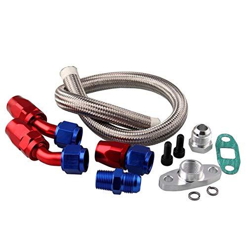 Kit di giunti raffreddati ad olio per accessori per auto a vendita transfrontaliera per turbocompressori per set di riparazione turbina T3T4