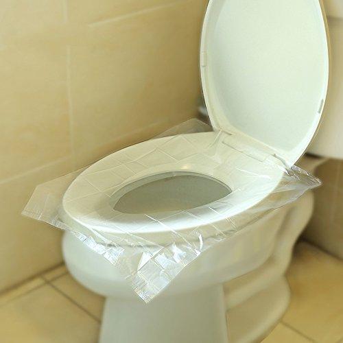 Viaje almohada de tocador desechable mujer embarazada asiento de inodoro impermeable bacterias traje de estar universal, 30
