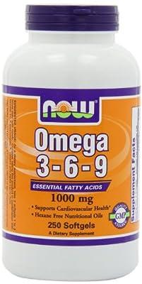 Omega 3-6-9 1000mg, 250 Softgels
