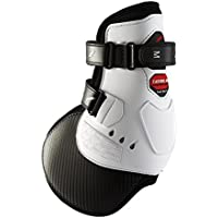 Zandonà paranocche extra Protection Carbon Air Feel + Competition Velcro, BIANCO, Large