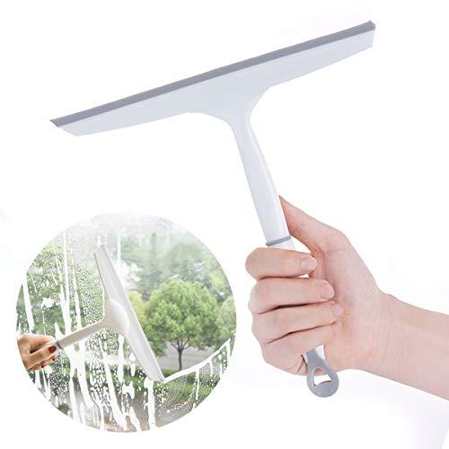 -Schnellwischer-Rakel, Rutschfester Silikongriff-Seifen-Reiniger für Hauptbadezimmer-Dusche ()