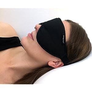 Stellar Deluxe Schlafmaske – 100% lichtundurchlässig, hoher Tragekomfort, ideal für Zuhause und unterwegs – Zertifiziert nach Öko-Tex Standard 100