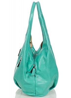 Taschenloft Sac à Main pour Femme Hobo   Poche spacieuse à 3 Compartiments   30x25x17cm