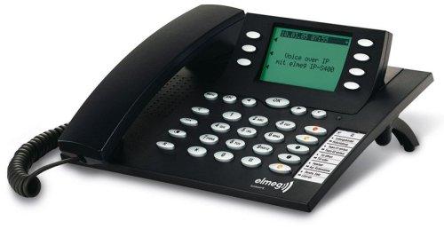 Funkwerk Elmeg IP-S400 VoIP Telefon schwarzblau