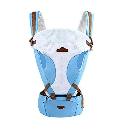 Bébé Hip Siège multifonctions Porte-bébé respirant Sling Wrap Infant Sac à  dos kangourou porte d69ef317155