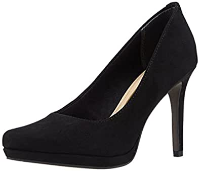 Tamaris 22417, Damen Pumps, Schwarz (Black/Gold 012), 38 EU (5 Damen UK)