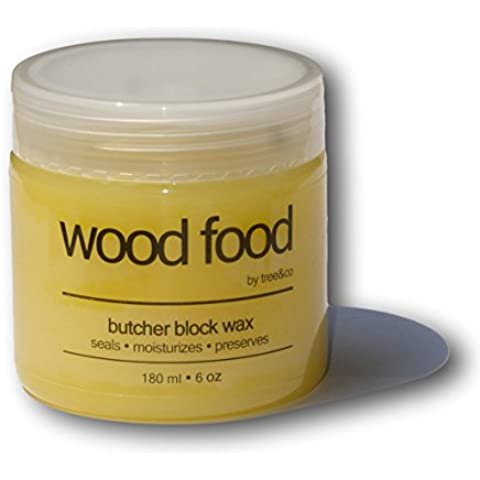 "La cera per ceppi da taglio ""Wood Food"" da Tree & Co"