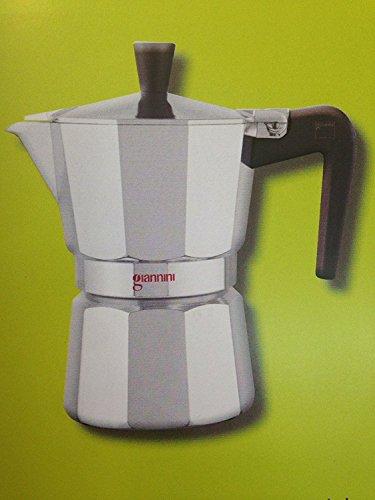 Giannini Ricambio originale per caffettiera Nina TRE tazze 2 guarnizioni in silicone e 1 filtro