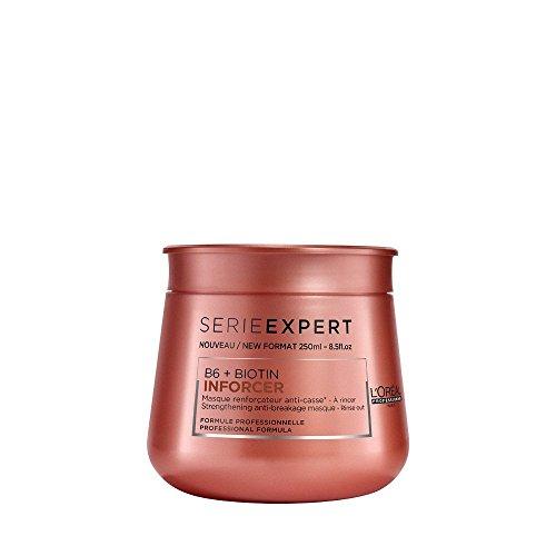 L'Oréal Professionnel Serie Expert Inforcer Maske, Stärkende Maske gegen Haarbruch, 1er Pack (1 x 250 ml) (Maske Stärkende)