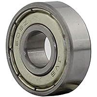 Hrph 10Pcs 608ZZ rodamientos de bolas profundos del surco 8 * 22 * 7m m para la impresora 3D 8m m Alesaje