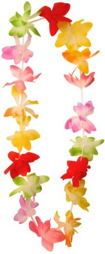 10-hawaiian-tropical-party-flower-lei-leis-neck-garland-by-hb