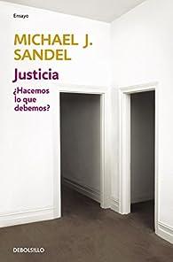 Justicia par Michael J. Sandel