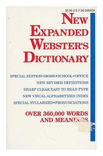New Expanded Webster's Dictionary