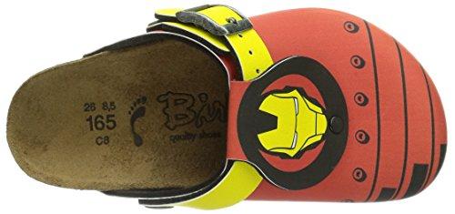 Birki's Shetland Marvel, Sabot Bambino Rosso (Rot (Ironman)