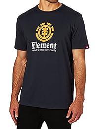 Tee shirt Element Vertical Eclipse Bleu Fonce