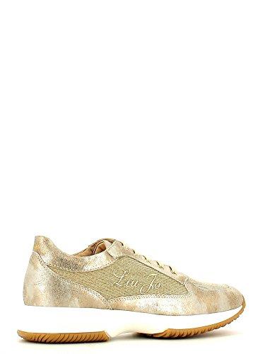 liu jo , Chaussures de ville à lacets pour fille Or - Oro