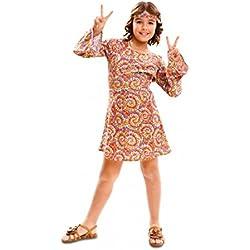 Partido Champ 83-01976 - Hippie, niña, 7-9 años, púrpura