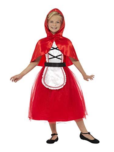 Smiffys Deluxe Rotkäppchen-Kostüm für Mädchen