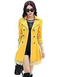 the best attitude f024b 0e627 Suchergebnis auf Amazon.de für: damen mantel gelb: Bekleidung