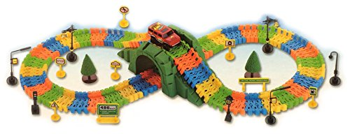 kids-flexible-variable-car-railway-track-set-169-pcs-racing-car-game-signs-accessories-build-play-fu