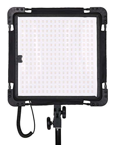 Dracast LED500 Yoga Series - Flexible Panel - Bi-Color - V-Mount - Professionelles Foto & Video Licht - Filmbeleuchtung - Studiolicht - LED Beleuchtung Dauerlicht Led-panel Mount