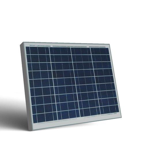 Placa Solar Fotovoltaico 50W en silicio policristalino, ideal para abastecer a campistas, barcos, cabañas, casas de campo, sistemas de videovigilancia, puentes de radio, etc.  Características generales:  12V -Sin conexión a la redLos paneles Off Gr...