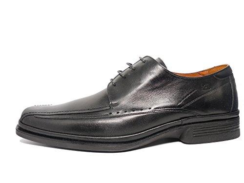 Fluchos, Scarpe stringate uomo nero Size: 45