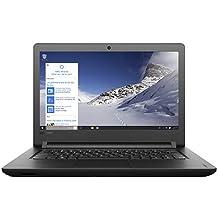 Lenovo E41-20 14-inch HD Laptop (PENTINUM Quad CORE-4405U / 4GB / 500GB / DOS), Black