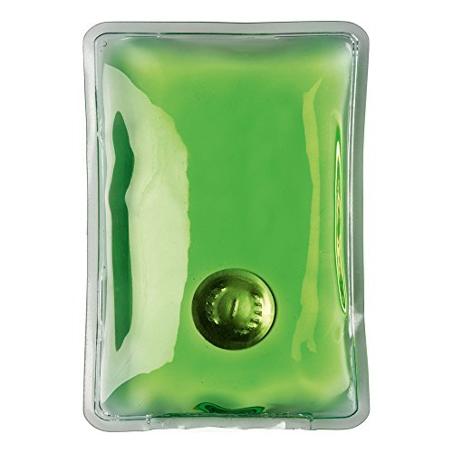 eBuyGB® wiederverwendbare Gel Hand Wärmer / Wärmekissen - Instant Heizung (grünes Rechteck) (Sofortige Wärme-wasser-heizung)