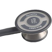 Riester 4001-01 Estetoscopio duplex negro, aluminio, en caja expositora de cartón