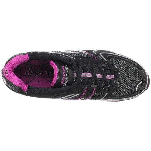 Skechers S2 Lite 12381 NVSL, Scarpe da ginnastica, Donna Nero (Nero)