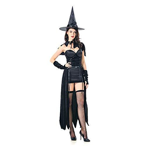 Kostüm Krankenschwester Zombie Übergröße - TIANFUSW Halloween kostüm Hexe Damen, Sexy Cosplay Karneval