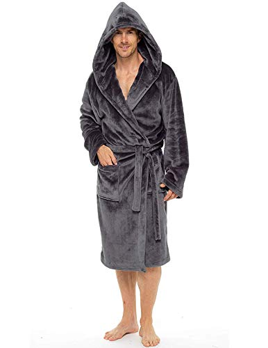 CityComfort Mens Hooded Dressing...