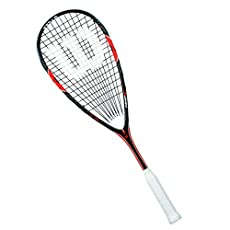 Head Size: 75.5in2 (487cm2); Frame Weight: 155g (5.5oz); Balance: 360mm (Head Heavy);Length: 27'' (685mm); Strung with a Sensation Strike 17 String; String Pattern: 14x18;Construction: Full BLX Graphite with Power Hinge Technology; Grip: Extra Tack;3...