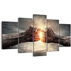 Bild auf Leinwand - Leinwandbilder - fünf Teile - Breite: 150cm, Höhe: 100cm - Bildnummer 2968 - fünfteilig - mehrteilig - zum Aufhängen bereit - Bilder - Kunstdruck - EA150x100-2968