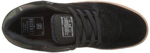 Globe The Delta, Herren Skateboardschuhe Noir (Black/Camo 10180)