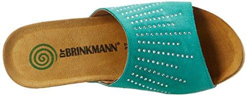 Dr. Brinkmann 701026, Mules Femme Vert