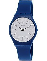 a9764993cd25 Swatch Marmarella SFN124 Blue Silicone Swiss Quartz Fashion Watch