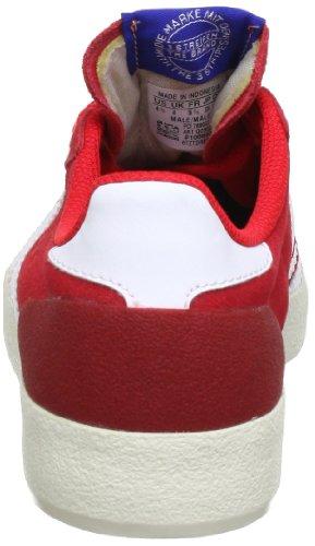 adidas Originals BASKET PROFI LO Q23020, Sneaker Uomo Rosso (Rot (VIVID RED S13 / RUNNING WHITE FTW / ECRU)