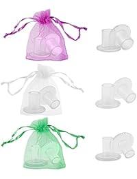 12 Pares Stiletto Protector de Tacón Alto, Tapones de Tacón Transparentes perfectos para Zapatos de Mujer