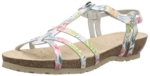 Panama Jack - Dori Tropical B1, sandali  da donna, bianco(weiß (blanco / white)), 39