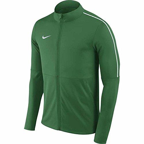 Nike Herren Dry Park 18 Trainingsjacke, Pine Green/White, L (Nike-knit Jacket)